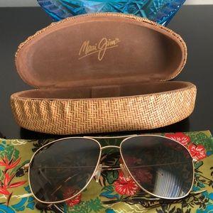 Maui Jim Sunglasses Cliff House Aviator